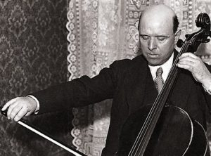 Pau Casals, uno de los mejores violonchelistas de todos los tiempos.