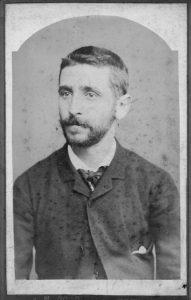 Federico Ureña en 1886.