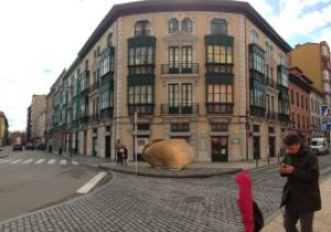 Esquina de las calles LLano-Ponte con Ruiz-Gómez.